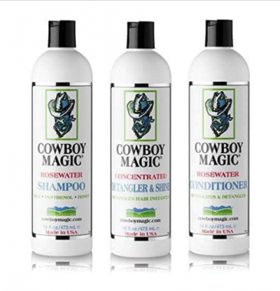 Cowboy Magic Shampoo, Conditioner & Detangler & Shine