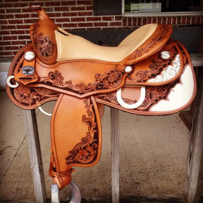 ornate saddle
