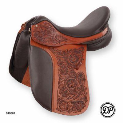 intricate saddle