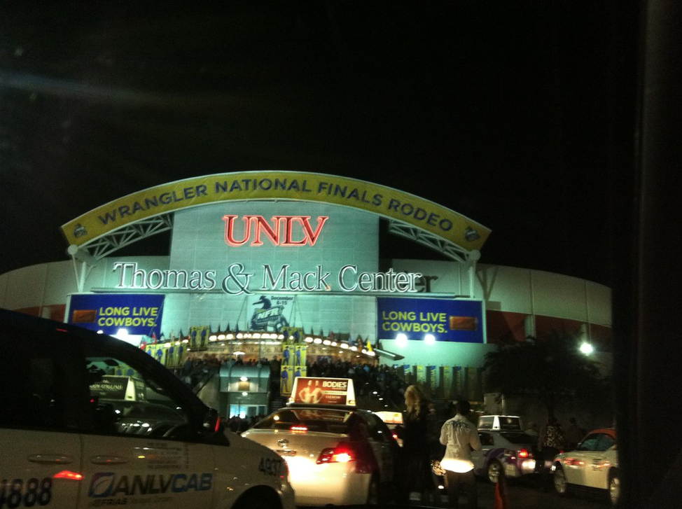 National Finals Rodeo in Las Vegas
