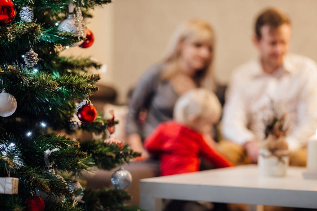 Family Christmas time
